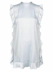 Red Valentino ruffled dress - Blue