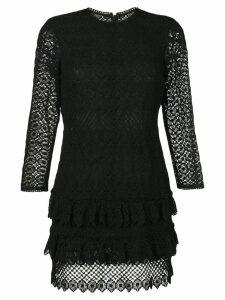 Philosophy Di Lorenzo Serafini lace mini dress - Black