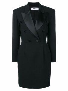 MSGM blazer style dress - Black