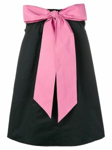 Nº21 bow-detail dress - Black
