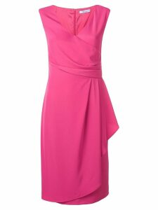 Blumarine side drape dress - Pink