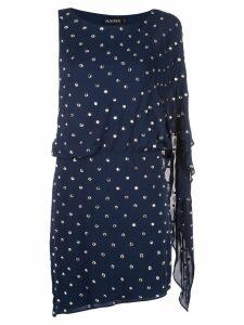 Haney Lucia embellished mini dress - Blue