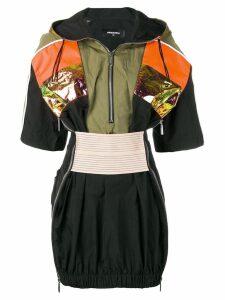 Dsquared2 sport technical mini dress - Black