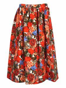 Marni Marni Floral Print Skirt