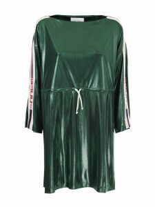 Gucci Green lurex dress