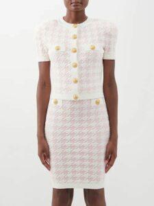 Ernest Leoty - Charlotte Wool Hooded Sweatshirt - Womens - Black