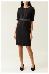 Womens Hobbs Black Faith Dress -  Black