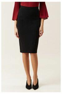 Womens Hobbs Black Mina Skirt -  Black