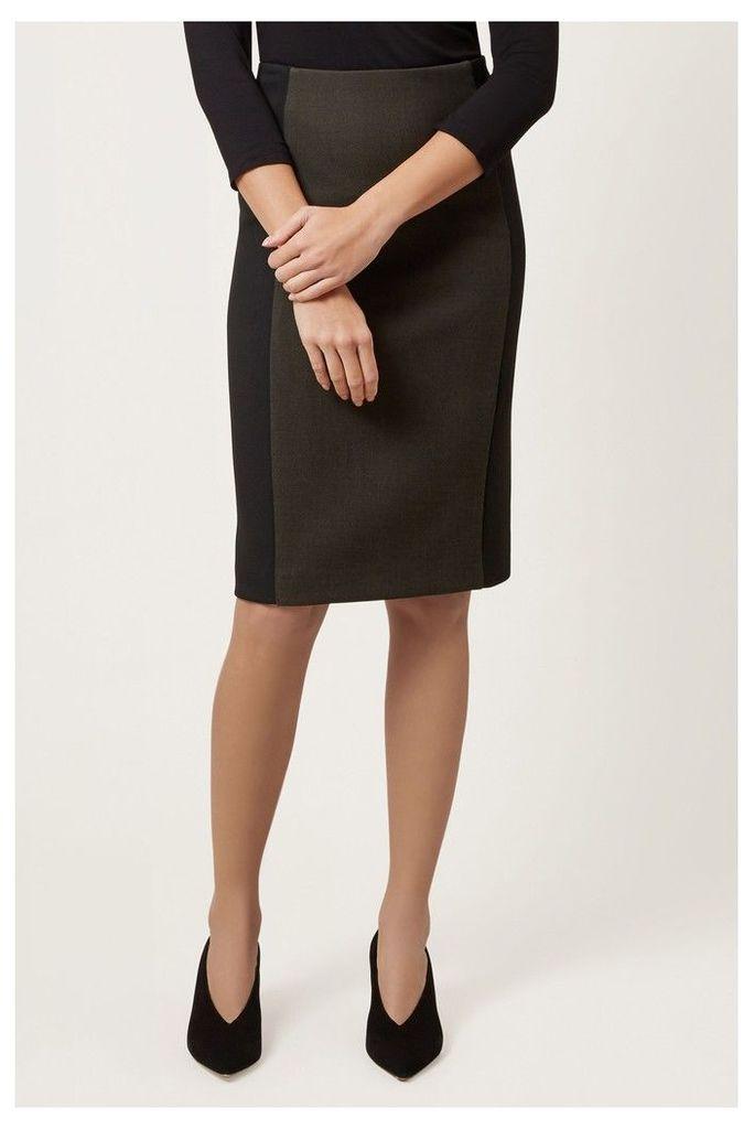Womens Hobbs Green Miranda Skirt -  Green