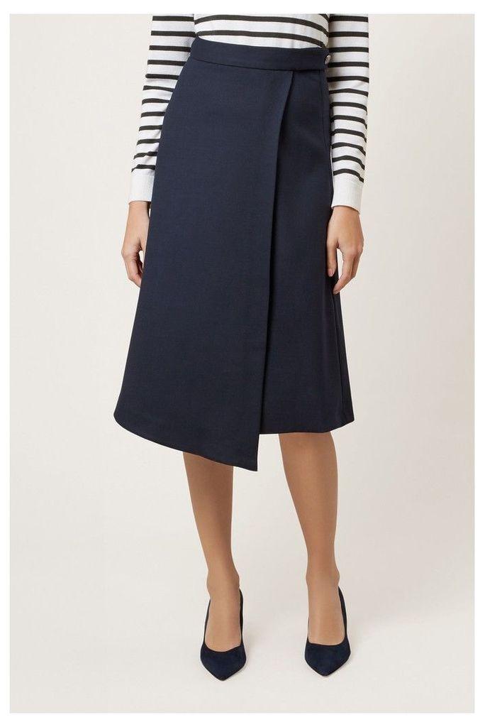 Womens Hobbs Blue Julianna Skirt -  Blue