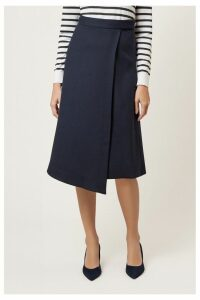 Womens Hobbs Blue Julianna Skirt -  Blue