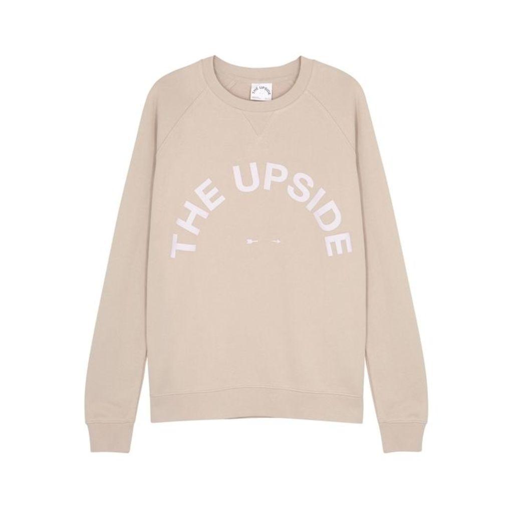 The Upside Sid Logo-appliquéd Cotton Sweatshirt
