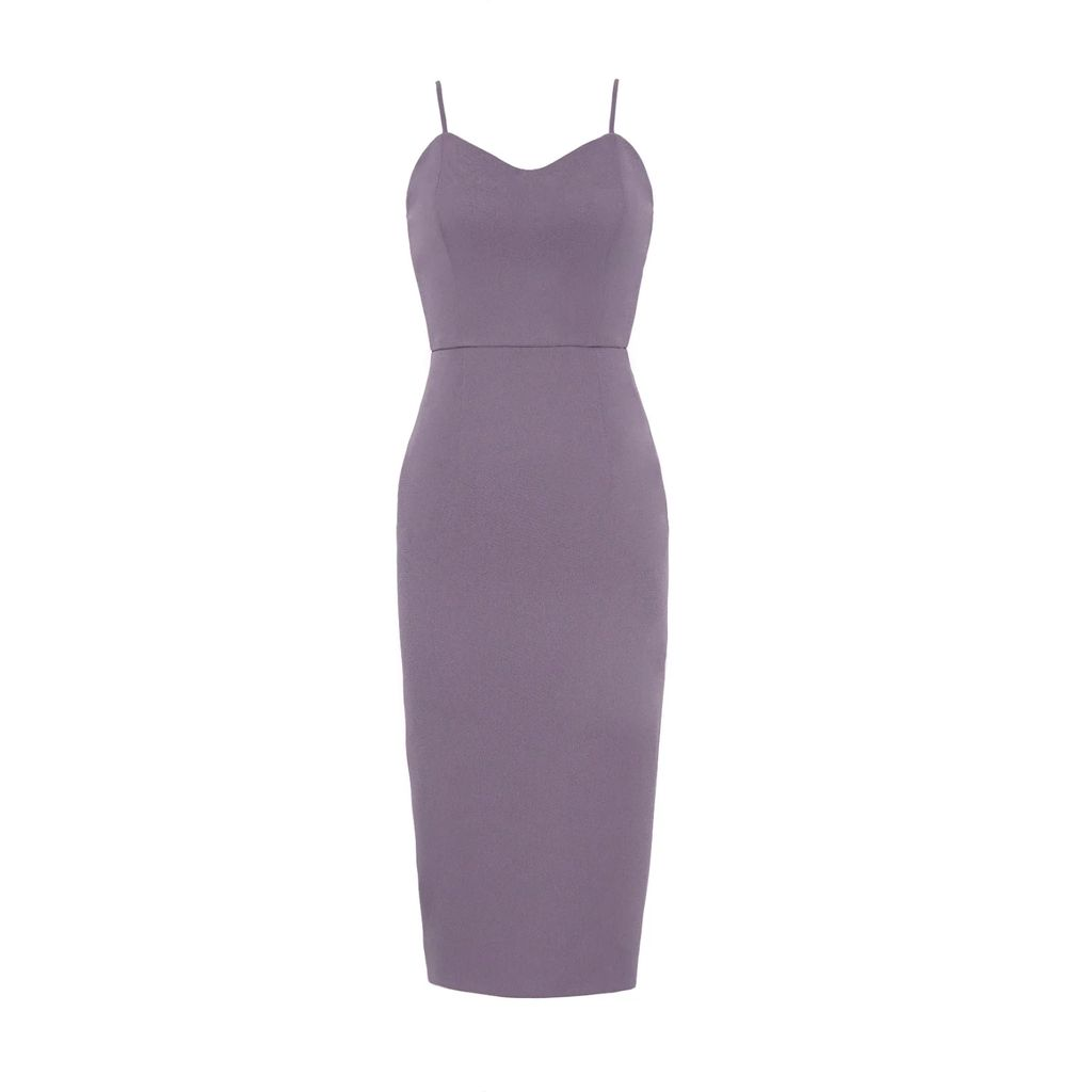 L23 - Black Cotton Jersey Dress With Print