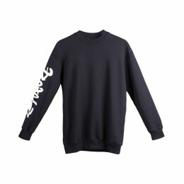L23 - Printed Cotton-Jersey Sweatshirt