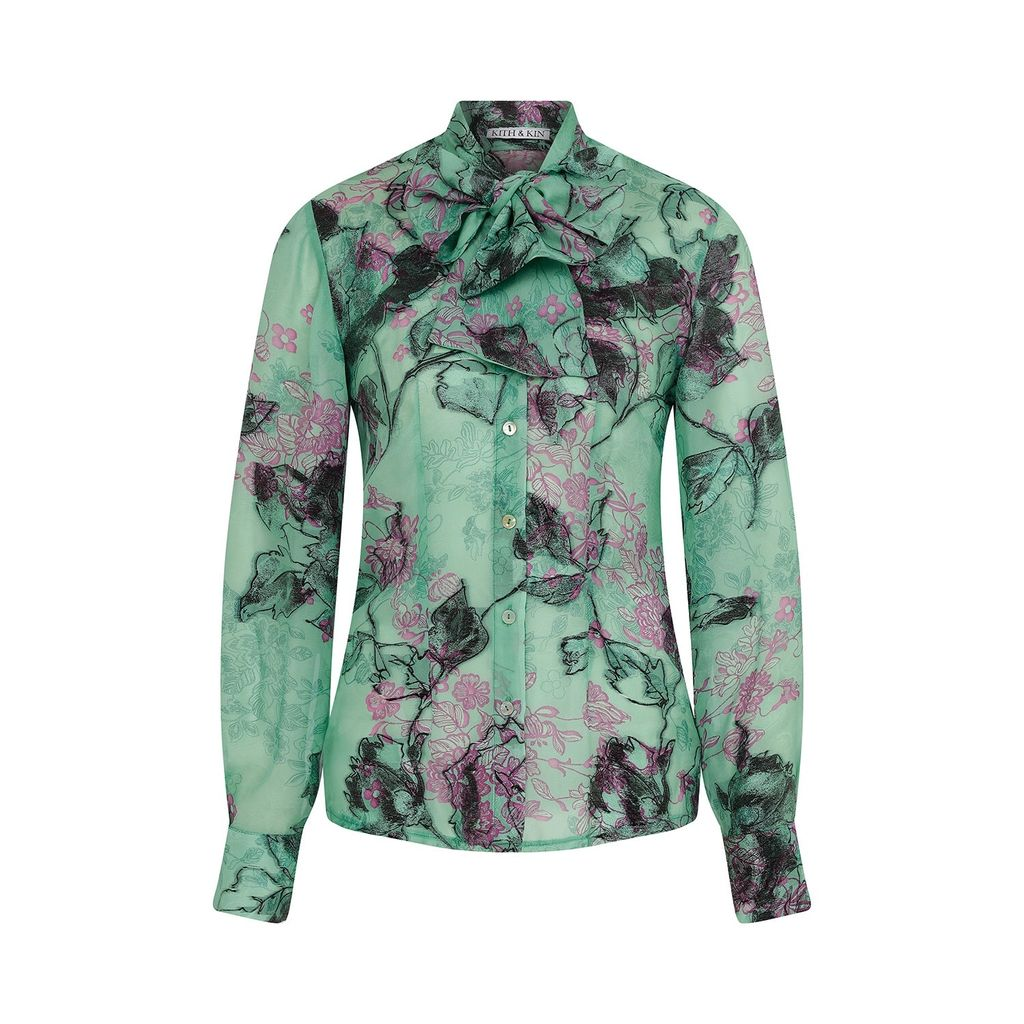 Baukjen - Sophie Sweatshirt In Cream & Navy