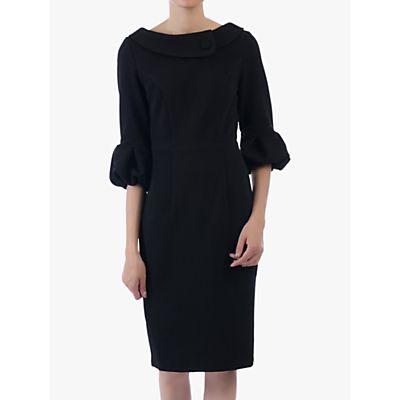 Jolie Moi Bell Sleeve Collar Dress