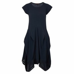 HIGH Praise Navy Stretch-jersey Dress