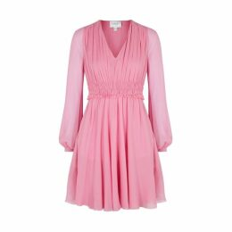 Giambattista Valli Pink Silk Chiffon Dress