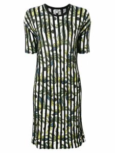 Kenzo striped day dress - Black