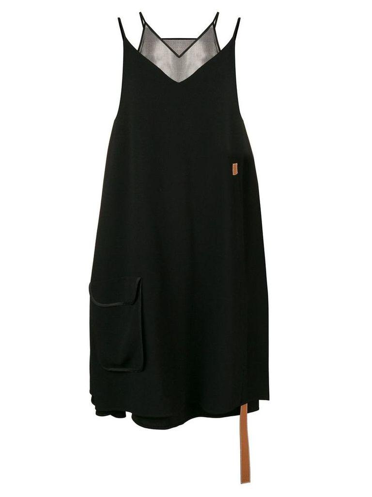 Loewe Trapeze layered dress - Black