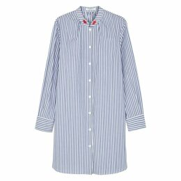 VIVETTA Faenza Striped Cotton Shirt Dress