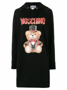 Moschino Teddy Circus hoodie dress - Black