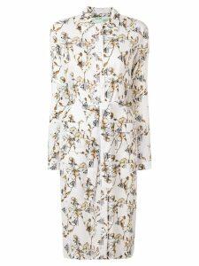 Off-White printed shirt dress