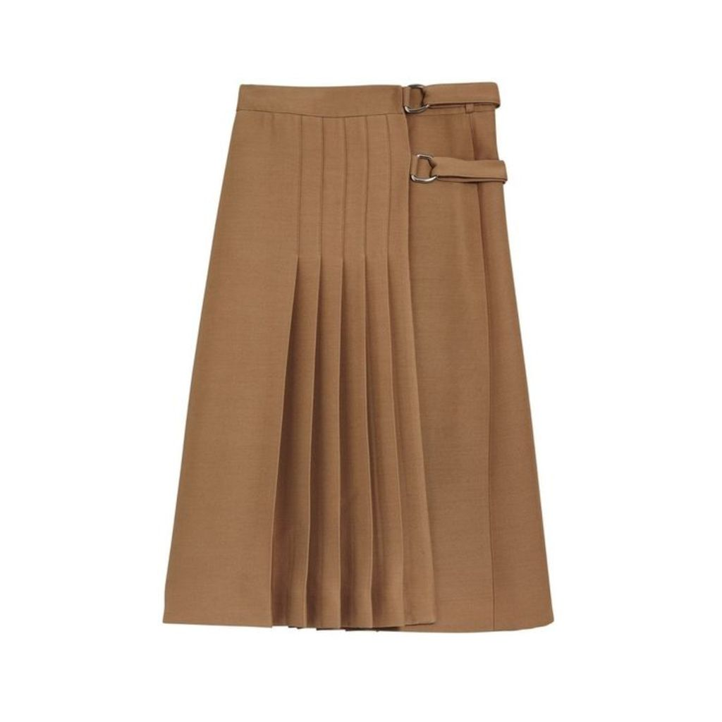 Burberry Wool Silk Kilt