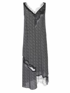 Joseph lace V-neck dress - Black