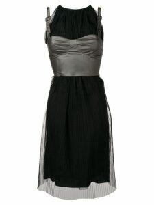 Maison Margiela corset midi dress - Black