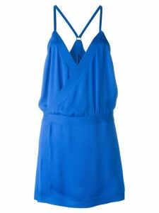 Dsquared2 spaghetti strap loose dress - Blue