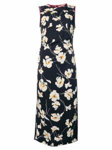 Nº21 floral print midi dress - Black