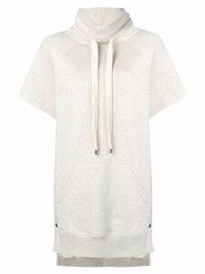Philosophy Di Lorenzo Serafini high neck sweatshirt dress - Neutrals