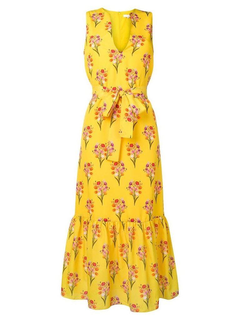 Borgo De Nor floral print dress - Yellow
