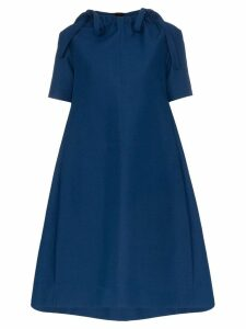Marni neck tie tent dress - Blue