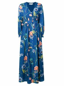 Borgo De Nor floral shirt dress - Blue