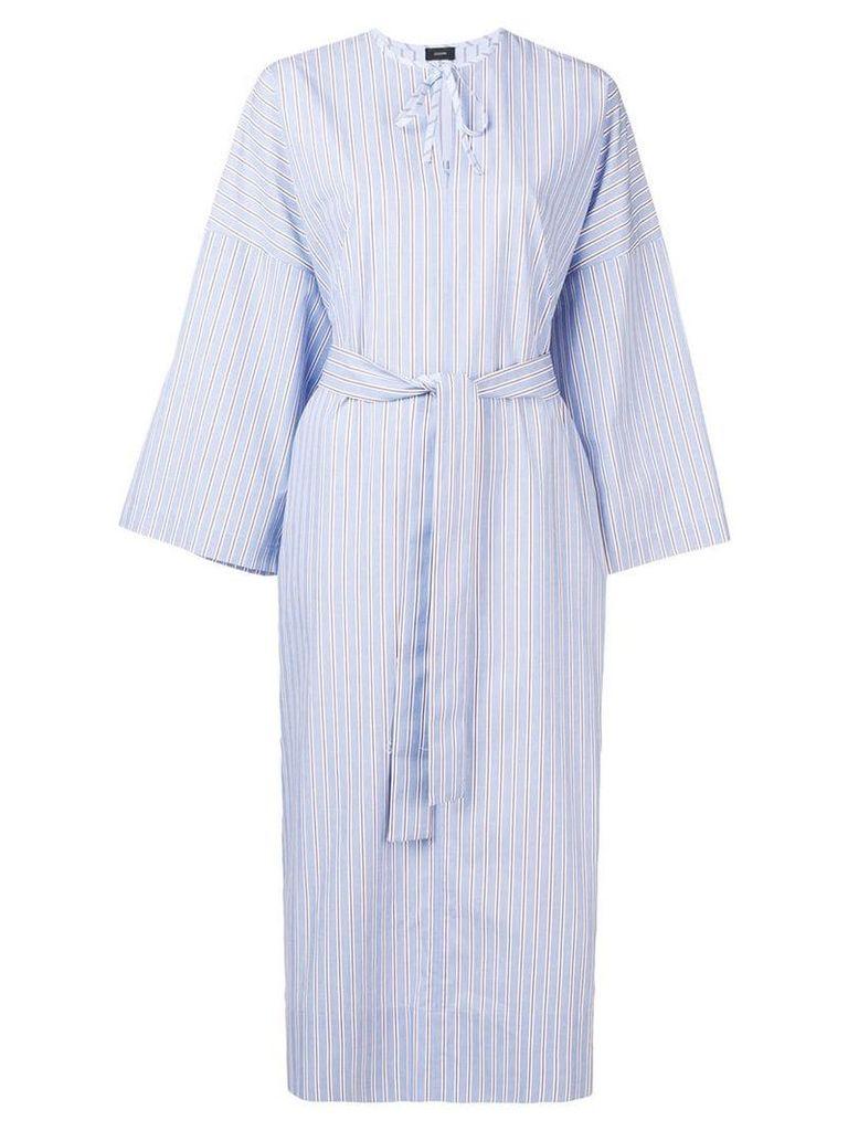 Joseph striped shirt dress - Blue