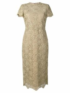 Valentino fitte lace dress - Gold