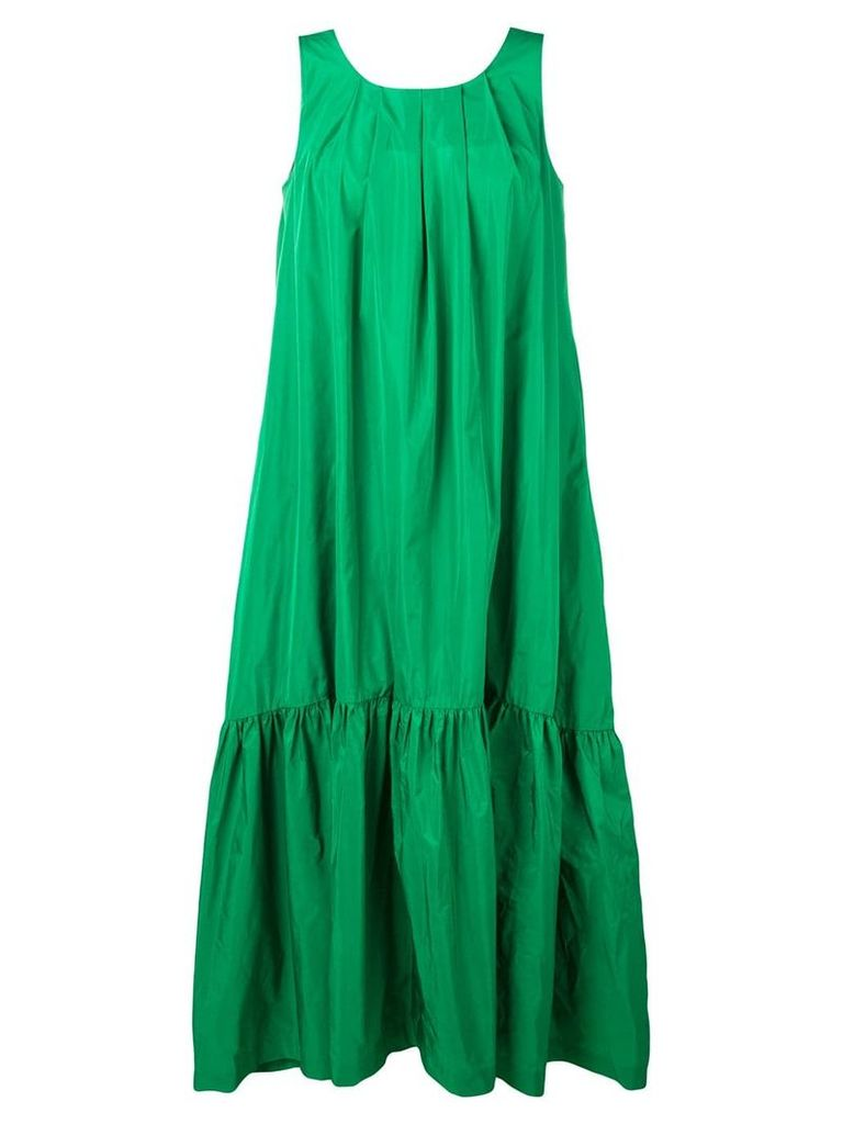 P.A.R.O.S.H. gathered parachute dress - Green