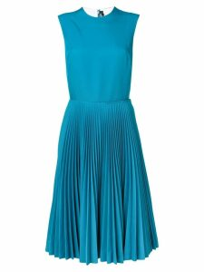 Calvin Klein 205W39nyc sleeveless pleated dress - Blue