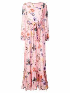 Borgo De Nor floral print dress - Pink