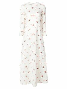 Co Center seam dress - White