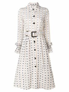 Edeline Lee Festoon Telluride printed dress - Neutrals