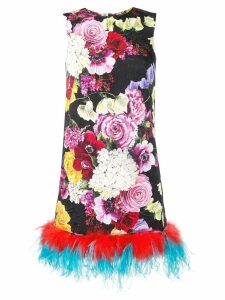 Dolce & Gabbana flower print dress - Black