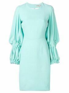 Edeline Lee Georgette Champion dress - Blue