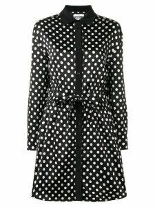 Moschino polka dots shirt dress - Black