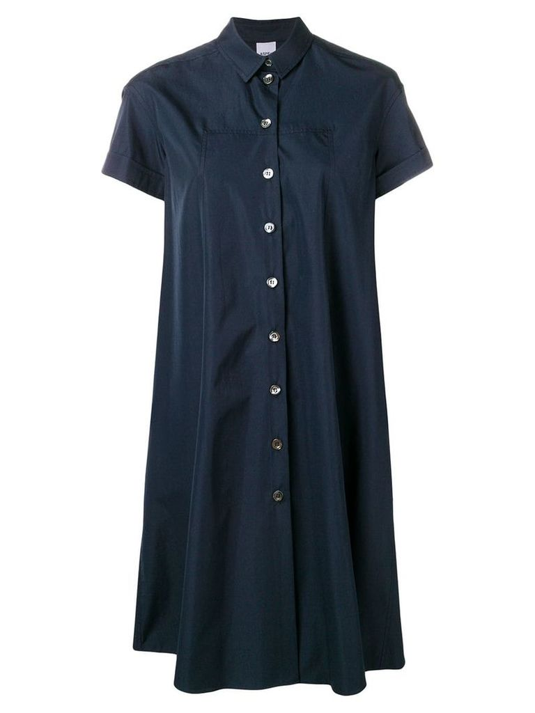 Aspesi oversized shirt dress - Blue