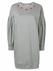 Vivetta crew neck sweater dress - Grey