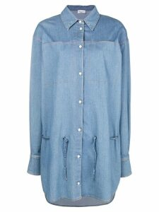 Sonia Rykiel denim shirt dress - Blue