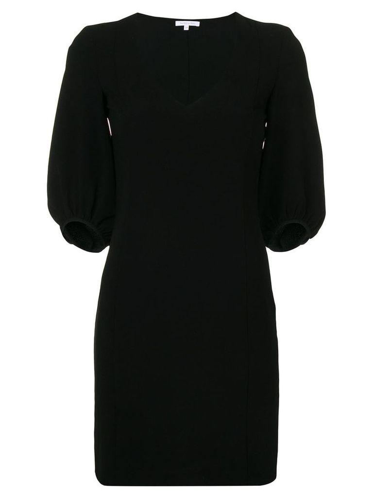Patrizia Pepe v-neck mini dress - Black